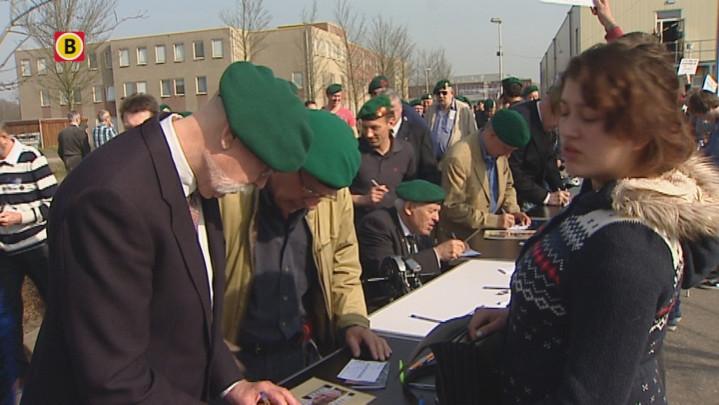 Sfeerimpressie commandomars door Roosendaal