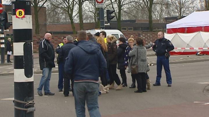 Opstootje met de politie na dodelijke aanrijding Eindhoven