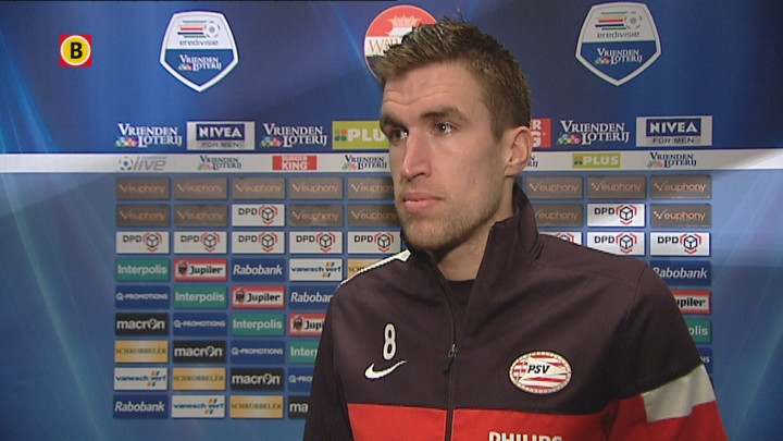 Kevin Strootman na Willem II-PSV