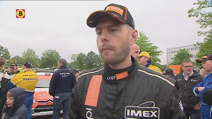 Interview met Jeroen Swaanen tijdens ELE Rally 2013 zaterdagmiddag