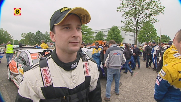 Interview met Bob de Jong tijdens ELE Rally 2013 zaterdagmiddag