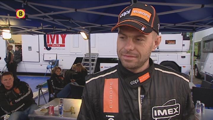 Interview met Jeroen Swaanen na z'n crash in de 13e proef van de ELE Rally 2013