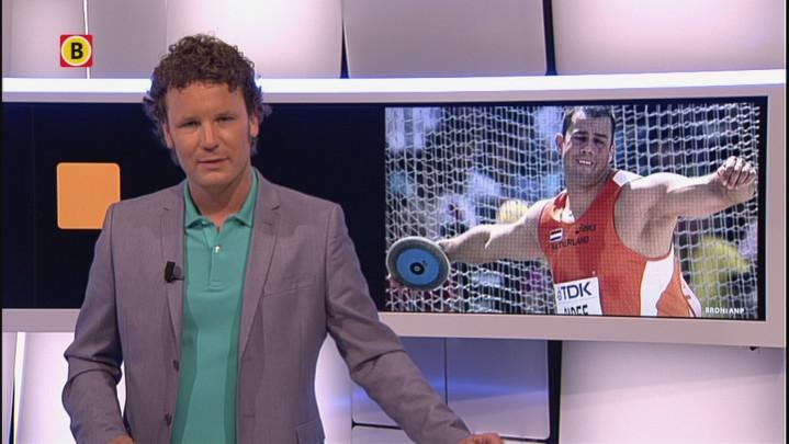 Discuswerper Erik Cadée pakt goud op NK in Amsterdam