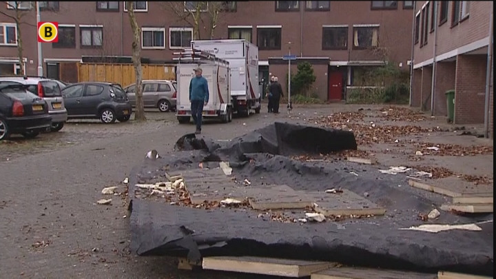 Een overzicht van de stormschade in Brabant