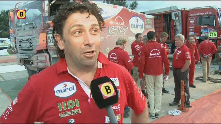 Peter Versluis na Dakar Rally etappe 7 in Salta