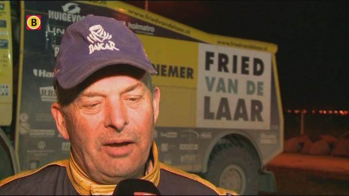 Fried van de Laar na etappe 7: 'We hebben een heel gezellig team'