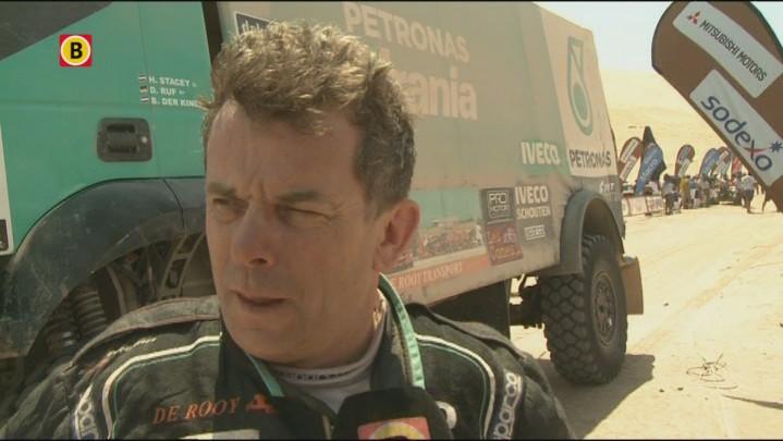 Hans Stacey over waarom hij wel en teamgenoot Gerard de Rooy geen pech had deze Dakar Rally.