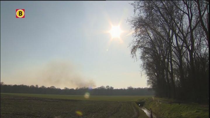 Beelden van de brand in de Loonse en Drunense Duinen