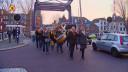 Tijdelijke Bartenbrug geopend met veel lintjes