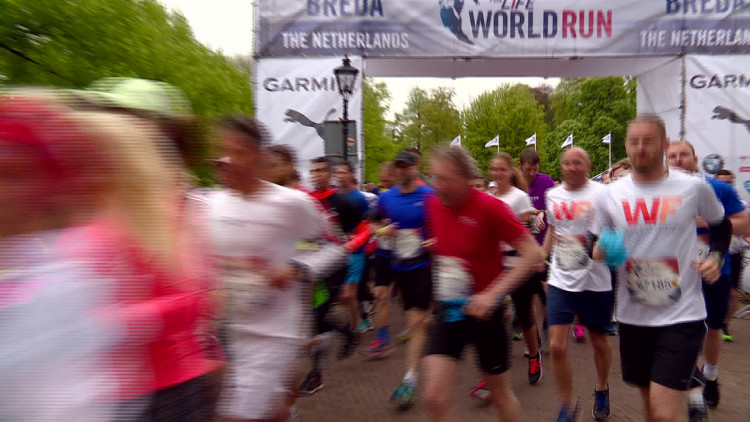 Wings for Life World Run Breda: duizenden renners van start voor goed doel