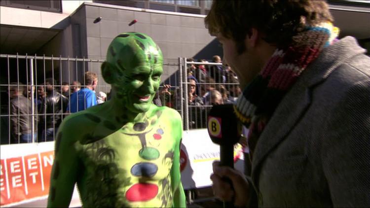 'Ik doe dit om aandacht te vragen voor de stichting Stepping Stone', Henk van Gerven uit Oostelbeers liep de marathon Eindhoven voor het goede doel