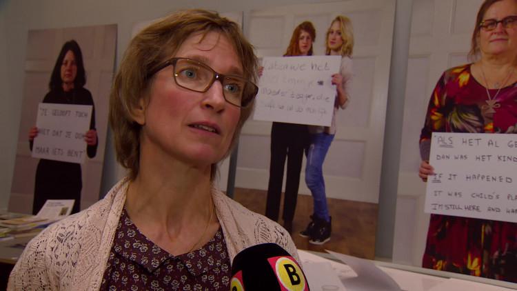 Fotoshoot in Van Abbemuseum in Eindhoven om seksueel misbruik bespreekbaar te maken