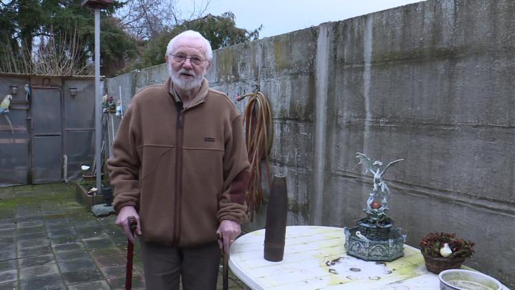 Opa Bertus Bakx bewaarde jarenlang een granaat in huis