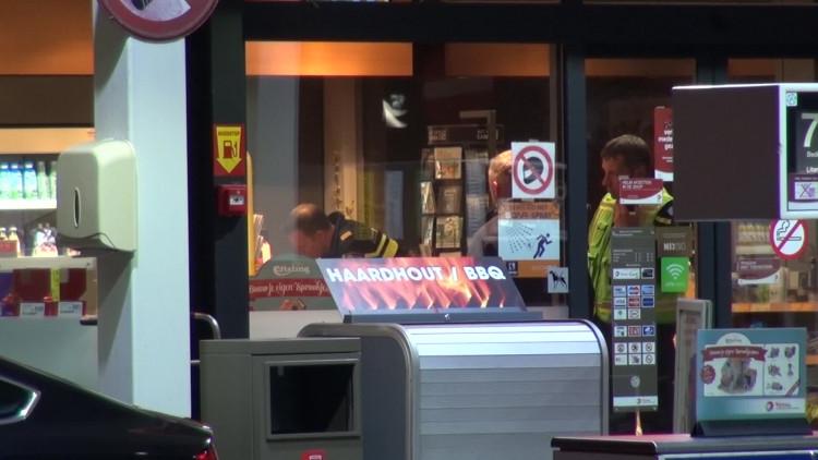 Tankstation in Veldhoven voor tweede keer overvallen
