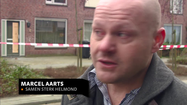 Gezin aan de grond na woningbrand in Helmond