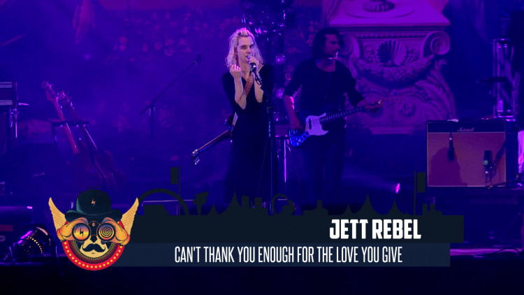 Jett Rebel - The Love You Give (live op Paaspop 2016)