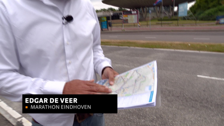Edgar de Veer van Marathon Eindhoven legt uit hoe de nieuwe live routeplanner werkt