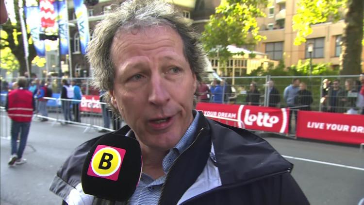 Festus Talam nam vlak voor de finish van de Eindhovense marathon een verkeerde afslag