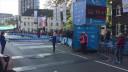Ontlading bij Harm Sengers na de finish in de Eindhovense marathon
