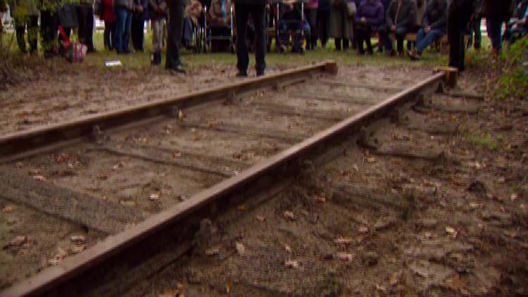 Spoorlijn Nationaal Kamp Vught houdt geschiedenis levend