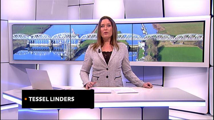 Rijkswaterstaat begonnen met aanleg van tijdelijke dam bij kapotte stuw in Maas bij Grave