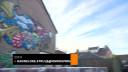 Gekkenhuis bij Prins Carnaval in Esch: huis versiert met graffiti