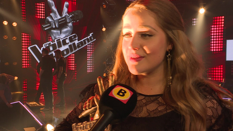 Interview met Pleun Bierbooms en Waylon na de finale van The Voice