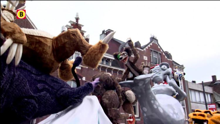 Ice Age carnavalswagen