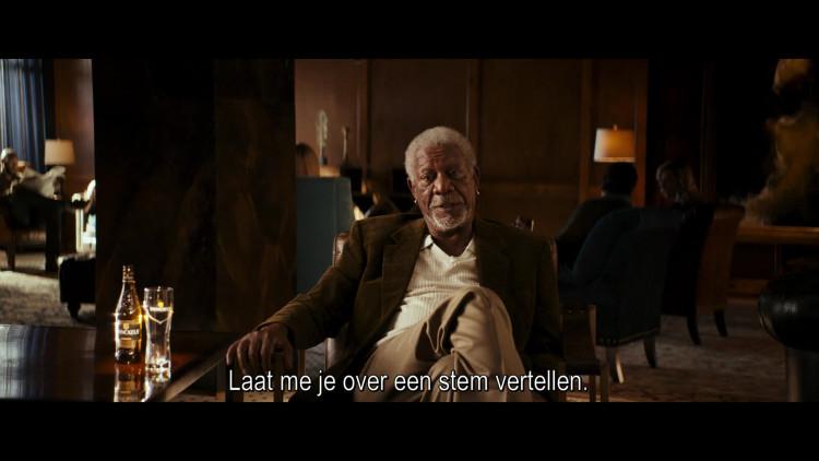Oscarwinnende acteur Morgan Freeman hoofdpersoon in nieuwe Bavaria-reclame