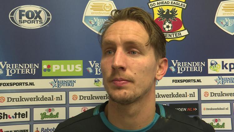 Reactie Luuk de Jong na Go Ahead Eagles-PSV