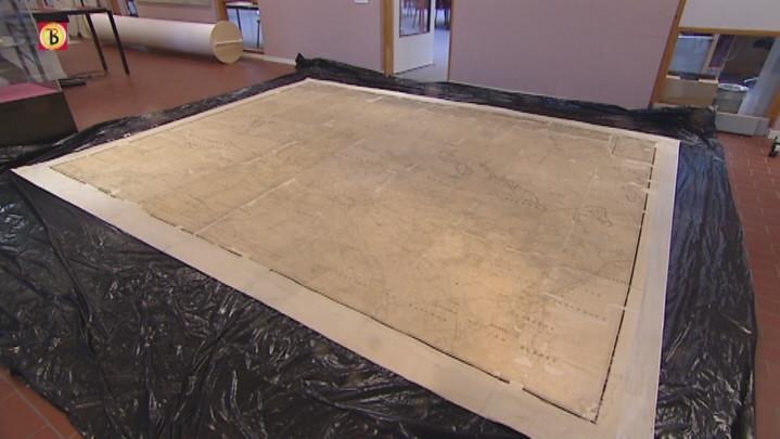 Grootste archiefkaart Brabant gedigitaliseerd