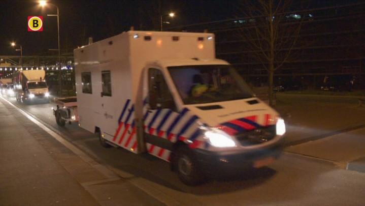 De politie sluit het Eindhovense plein hermetisch af