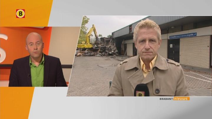 Verslaggever Jan Waalen met laatste nieuws over brand