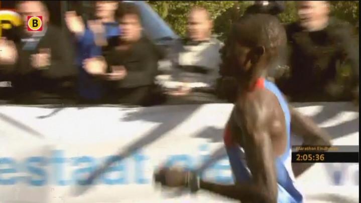 Finish Marathon Eindhoven 2012