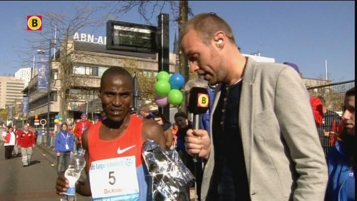 Reactie winnaar Marathon Eindhoven Dickson Kiptolo Chumba