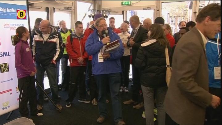 Prijsuitreikingen marathon vrouwen