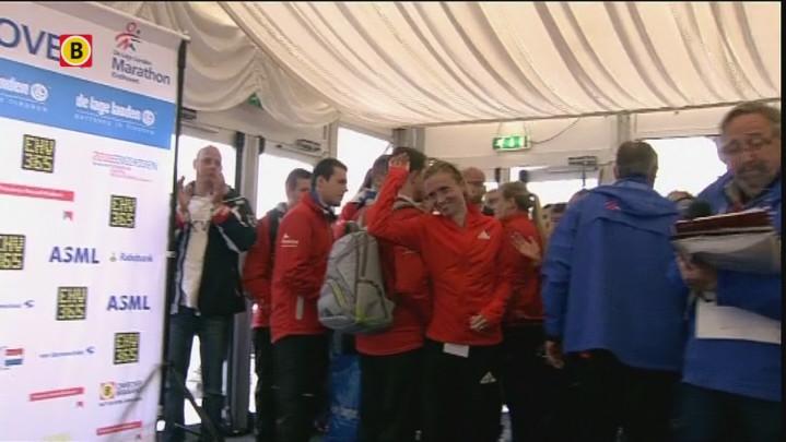 Prijsuitreikingen marathon NK vrouwen