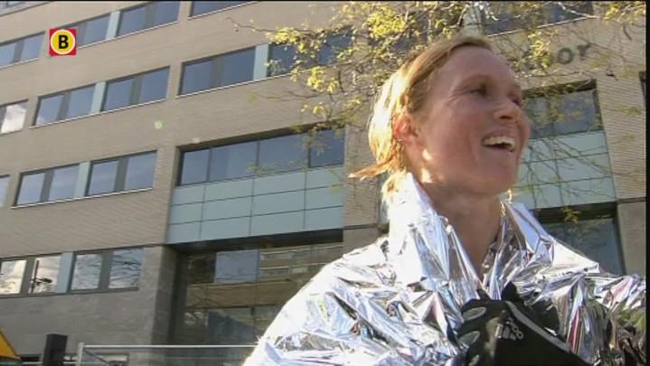 Merel de Knegt derde bij NK Marathon