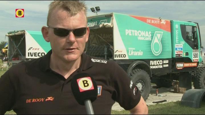 Trucker Gerard de Rooy