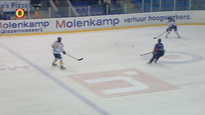 Ijshockeyfinale HYS Den Haag - Tilburg Trappers - alle zeven goals op een ritje