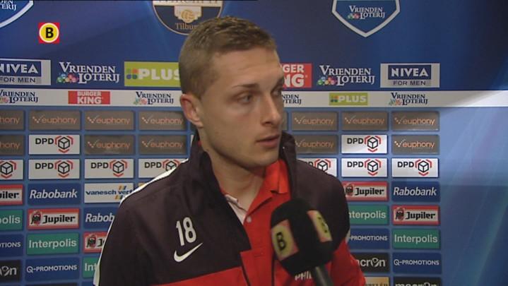 Timothy Derijck na Willem II-PSV