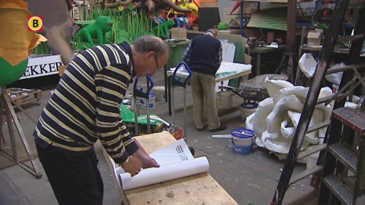 250 uur werk aan Koningscarnavalwagen De Krabkes voor niets, gemeente Den Bosch geeft geen toestemming