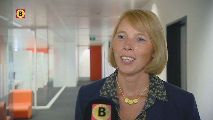 NSZ-voorzitter Christine Mattheeuws licht het onderzoek toe