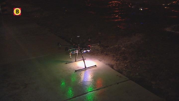 Drones verlichten de straten tijdens Glow in Eindhoven