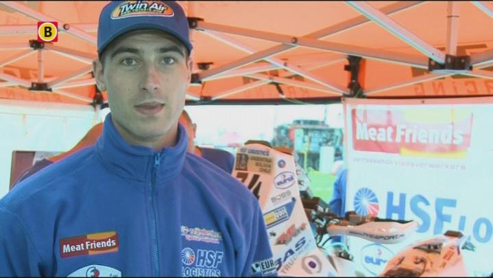 Hans Vogels tijdens de rustdag van de Dakar Rally