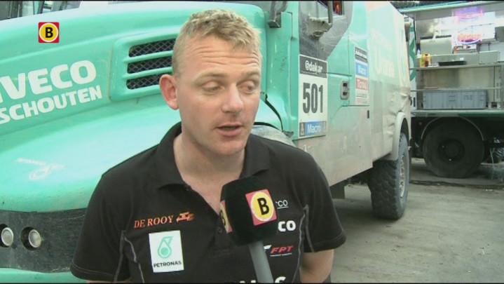 Gerard de Rooy na etappe 7 Dakar Rally