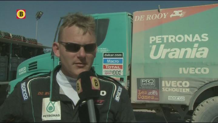 Trucker Gerard de Rooy uit Son over de achtste etappe van de Dakar Rally