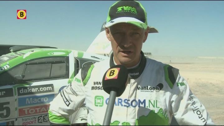 Erik van Loon vindt dat Gerard de Rooy 'niet moet zeuren' over de zwaarte van de Dakar Rally