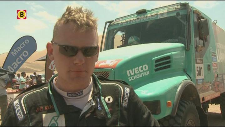 De teamcaptain van Kamaz had Gerard de Rooy al gewaarschuwd dat hij voor tegenstand zou zorgen in de Dakar Rally.