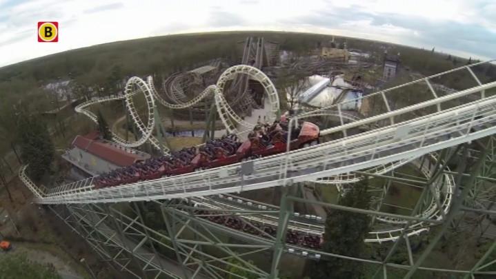 18-jarige Daan Sterk maakt Eftelingfilmpje met luchtbeelden